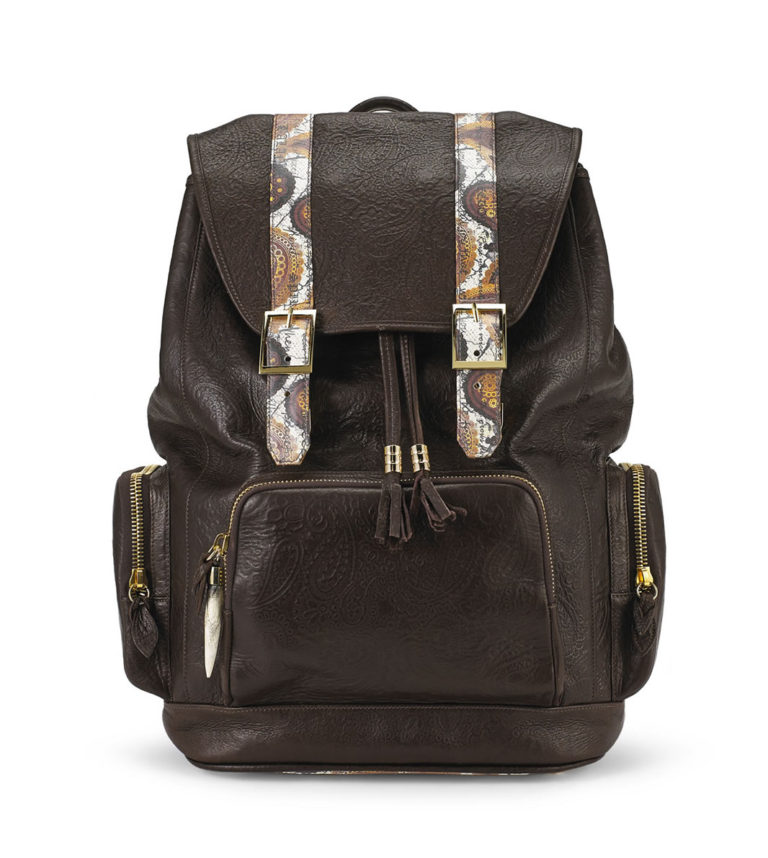 BACKPACK fingerprint-brown