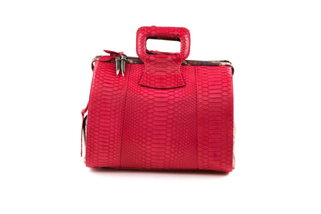 Lady B Cherry Red Python