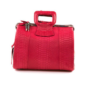 Lady B Cherry Red Python