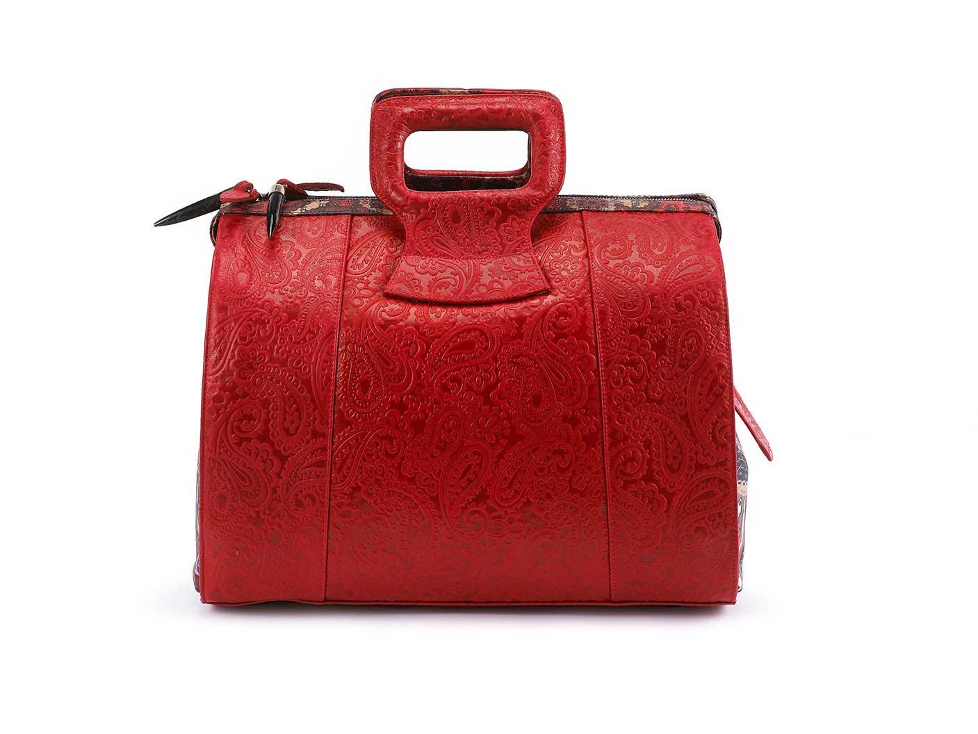 15 inch Rebirth Handbag Red