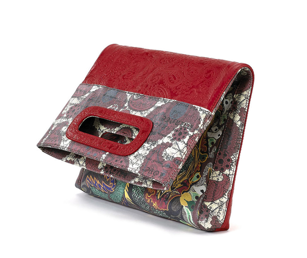 Enlightenment Red Embossed Paisley