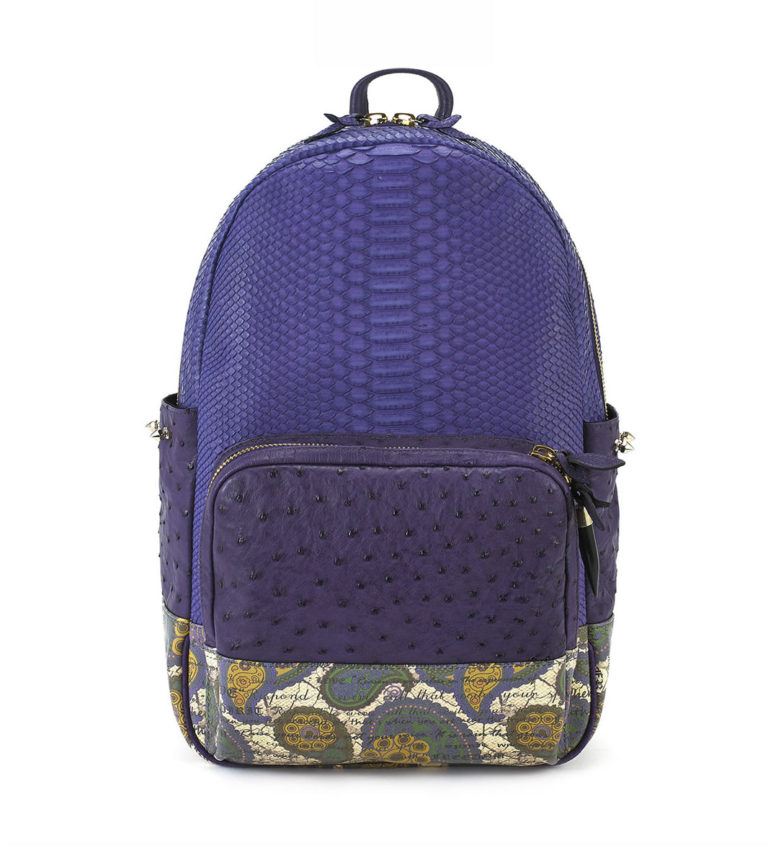 sportbpackblack-embossed-pocket-purpleborn-front